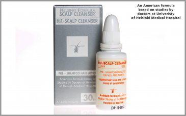 HELSINKI FORMULA [ H.F.] - <BR>SCALP CLEANSER lotion , 30ml